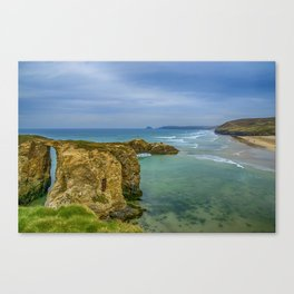 Perranporth Beach 2 Canvas Print