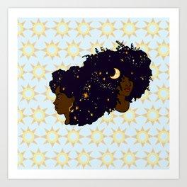 Sun Sisters 02 Art Print