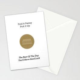 Lucky Penny Stationery Cards