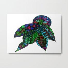 Turtle Beetle Metal Print