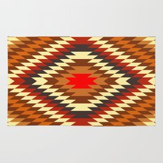 american native traditional ethnic costume motif seamless pattern Rug