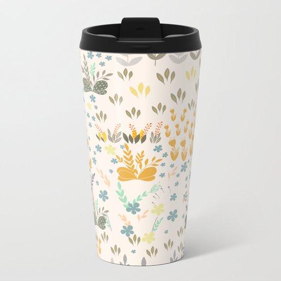 Amy Garden Metal Travel Mug