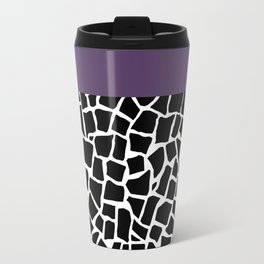 British Mosaic Purple Boarder Travel Mug
