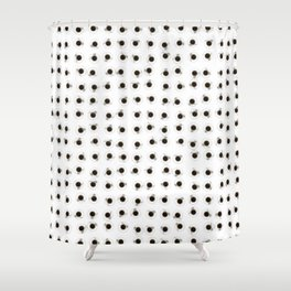 Coffee cups / 3D render of hundreds of cups of coffee Shower Curtain