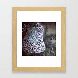 Silver Bells Framed Art Print
