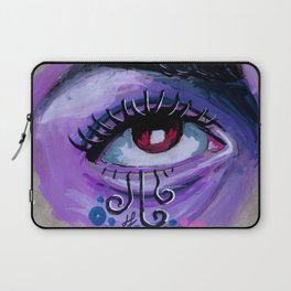 """i live in unreality"" Laptop Sleeve"