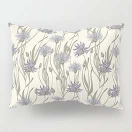 vintage cornflowers Pillow Sham