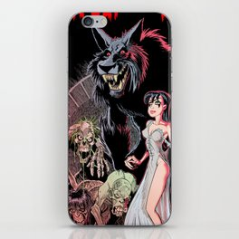 Wulf and Batsy in Bizarre Experiments iPhone Skin