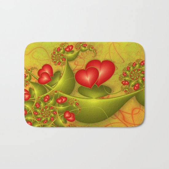 Fractal Love Bath Mat