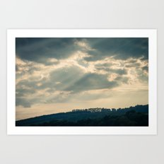 Hazy Summer Afternoon 1 Art Print