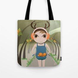 Deery Fairy and Oranges Tote Bag