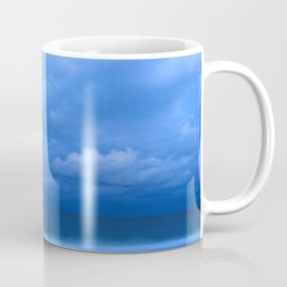 Midnight Mediterranian Sky, Santorini, Greece Coffee Mug