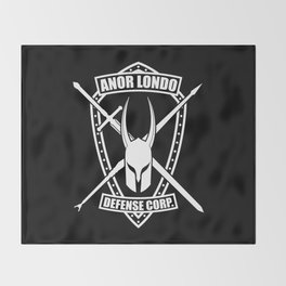 Anor Londo Defense Corp Throw Blanket
