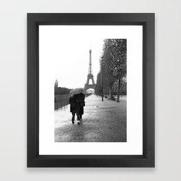 Paris Amour Framed Art Print