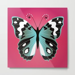Butterfly Queen Metal Print