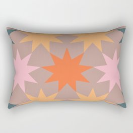 big stars big dreams pattern 3.1 Rectangular Pillow