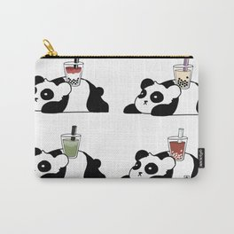 Wall of Boba Pandas Carry-All Pouch