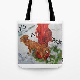 It's A Boy! Tote Bag