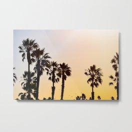 The Palms Metal Print