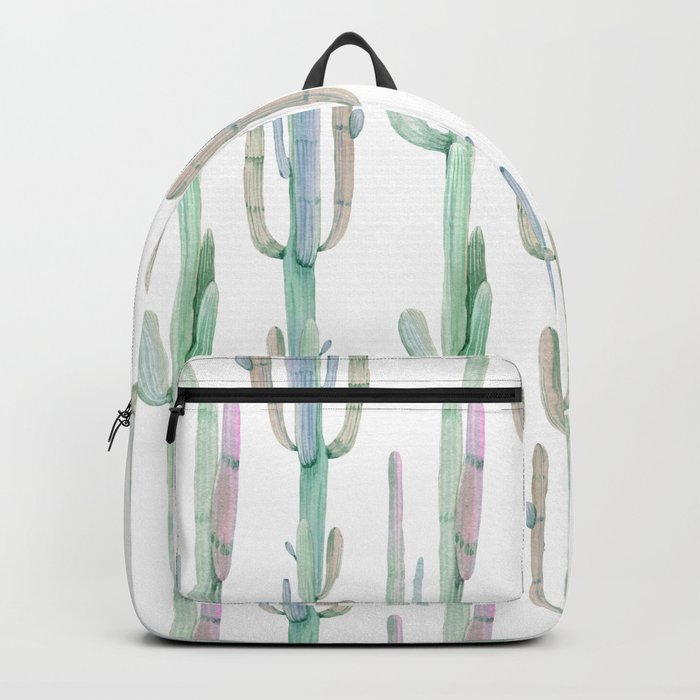 Arizona Wilderness Cactus Pattern Backpack