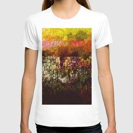 geometric ghetto T-shirt
