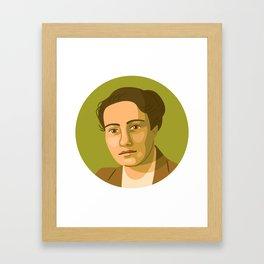 Queer Portrait - Frieda Belinfante Framed Art Print