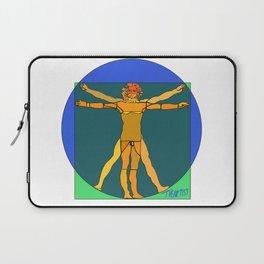 "Vitruvian Stained (""Lumo"" Vitruviano) Laptop Sleeve"