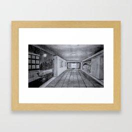 Breezeway Express Framed Art Print