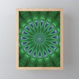 Feather Eyes Framed Mini Art Print