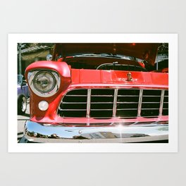 Cruzin to Colby Art Print