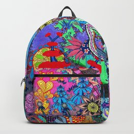 Abstract Forest Backpack