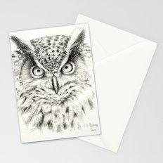 Owl G2011-012 Stationery Cards