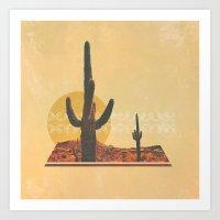 desert Art Prints featuring Desert by Drew Walker