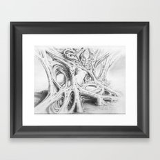 Driade 3 Framed Art Print