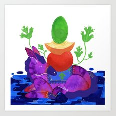Make Guacamole  Art Print