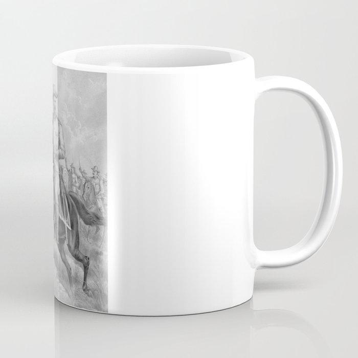 Colonel Theodore Roosevelt On Horseback Coffee Mug