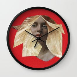 Fawcett up your life! Wall Clock