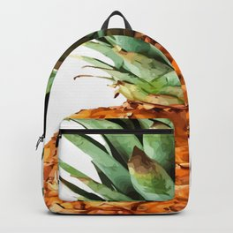 Pineapple Tropical Fruit Vector Art Backpack