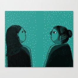 YOU? Canvas Print