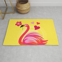 Flamingo Love2 Rug