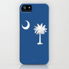 South Carolina flag2 (without text) iPhone Case