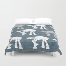 AT-AT's and Stormtroopers Duvet Cover