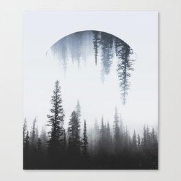 Reflective Nature Canvas Print