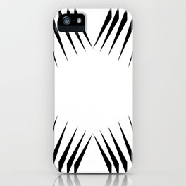 triangles with eyes iPhone Case