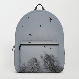 Winter Crows Backpack