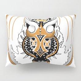 Copperhead Dragon Pillow Sham