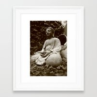buddha Framed Art Prints featuring Buddha by Falko Follert Art-FF77