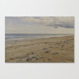 St Augustine beach Canvas Print