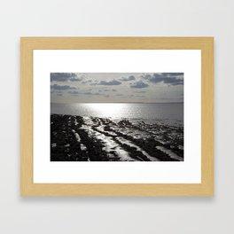 Clevedon Front Framed Art Print