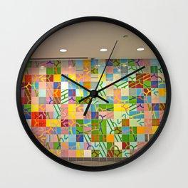 Detroit People Mover Art Renaissance Center Wall Clock